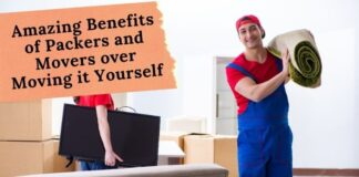 Amazing Benefits of Packers and Movers over Moving it Yourself