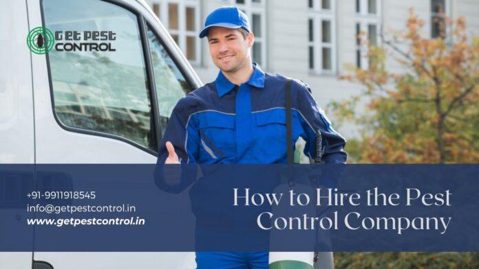 Hire the Pest Control Company