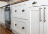 white kitchen cabines