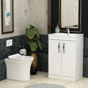 Back to Wall Close Coupled Toilet